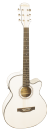 Freshman FA1AWH Electro Acoustic Guitar in White